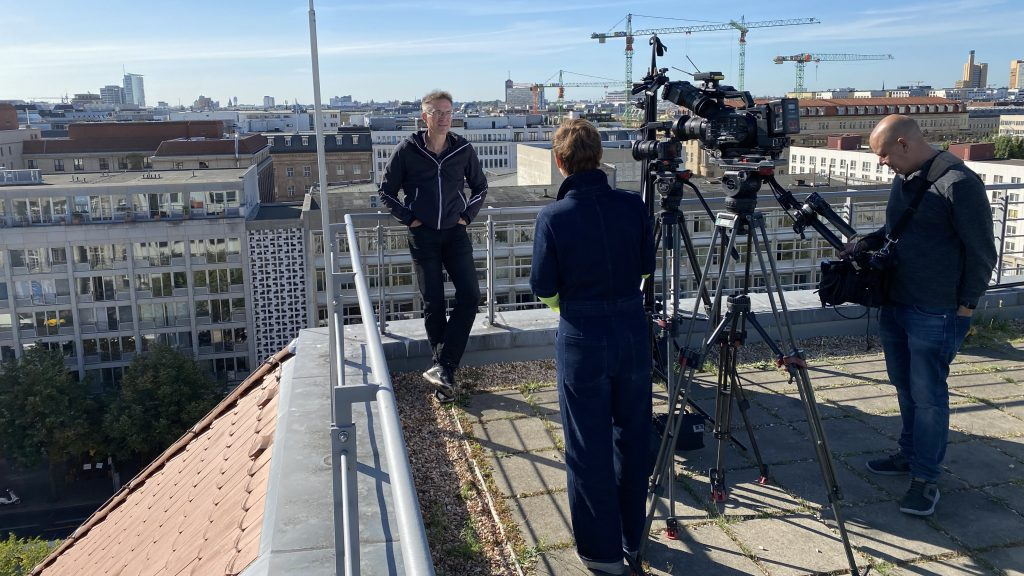 Interview mit ZDF aspekte am 18. September 2020